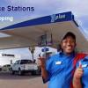 Engen-petrolpompe