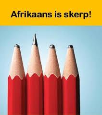 Afrikaans is skerp